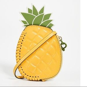 Tory Burch☀️Pineapple Coin Pouch Key Fob☀️